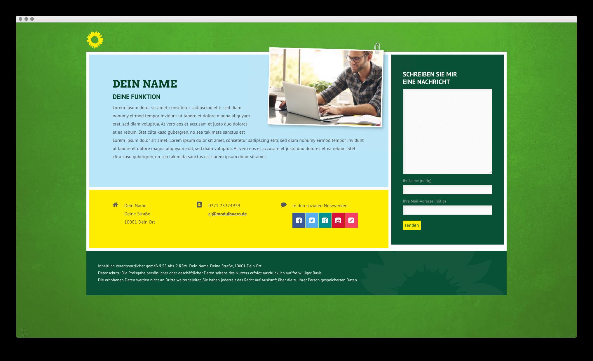 Gruenes Internet De Internetseiten Für Grüne